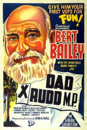 Dad Rudd, M.P. - Poster for theatrical release