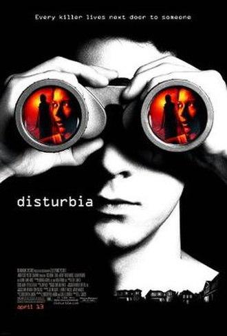 Disturbia (film) - Theatrical release poster