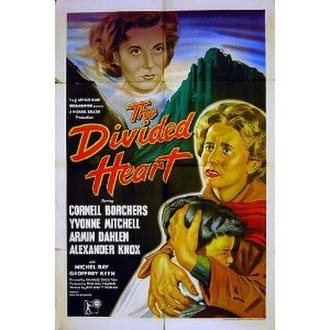 The Divided Heart - The Divided Heart UK release poster