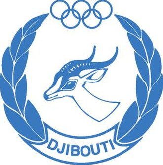 Djibouti at the Olympics - Djibouti NOC logo.
