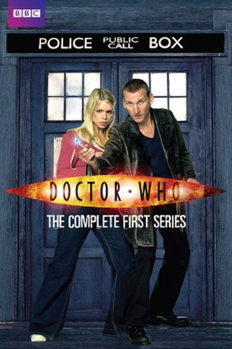 Doctor Who (series 1) - DVD box set cover art