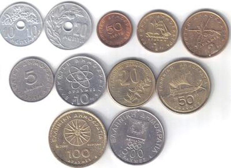 Modern Drachma Coins