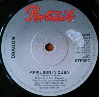 April Sun in Cuba - Image: Dragon April Sun In Cuba