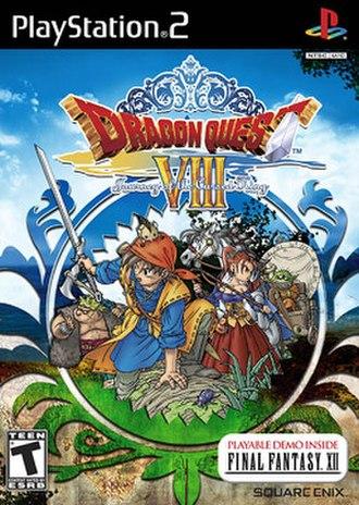 Dragon Quest VIII - North American cover art