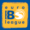 2004–2008Introduced in view of the name change to the EBSL in 2004. Accompanied by the Mastercard logo (as lead sponsors) until 2007 when MasterCard ended their sponsorship, so the logo was stripped back to this base design.
