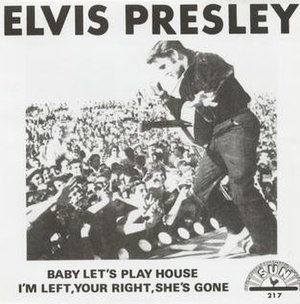 Baby Let's Play House - Image: EP Baby Lets Play House single 1955