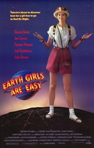 Earth Girls Are Easy - Theatrical release poster