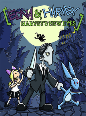 Edna & Harvey: Harvey's New Eyes - Image: Edna & Harvey Harvey's New Eyes Coverart