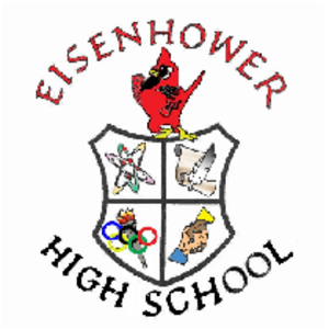 Dwight D. Eisenhower High School (Blue Island, Illinois) - Image: Eisenhower HS Blue Island Logo