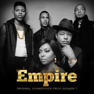 Empire: Original Soundtrack from Season 1 - Image: Empire Cast Official Soundtrack from Season One, Album Cover