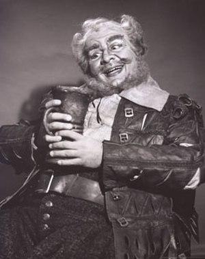 Ezio Flagello - Flagello as Verdi's Falstaff at the Metropolitan Opera.