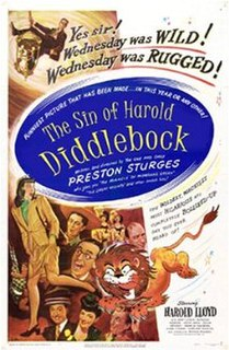 <i>The Sin of Harold Diddlebock</i> 1947 film by Preston Sturges