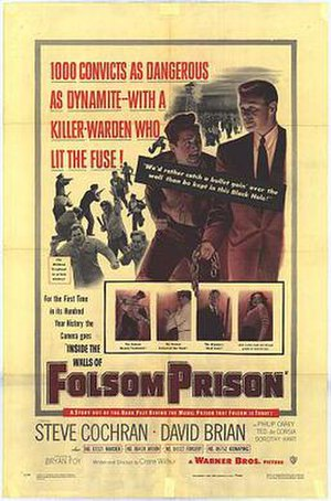 Inside the Walls of Folsom Prison - Theatrical release poster