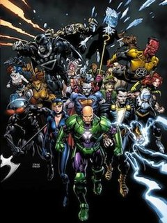 Forever Evil DC Comics Macroevent