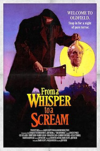 From a Whisper to a Scream (film) - British video poster