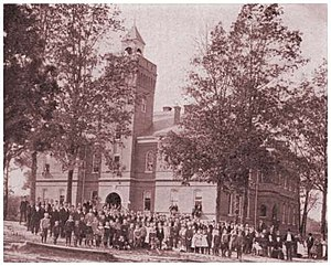 Freed–Hardeman University - The late Milan-Sitka Building, 1904, during which it was Georgie Robertson Christian College.