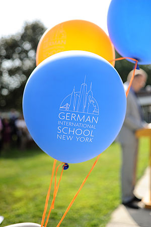 German International School New York - Image: German International School Balloons