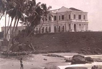 Thomas Maitland (British Army officer) - The governor's palace, Mount Lavinia, Sri Lanka