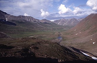 Kigluaik Mountains - Grand Central Valley, Kigluaik Mountains