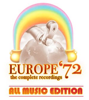 Europe '72: The Complete Recordings - Image: Grateful Dead Europe '72 The Complete Recordings