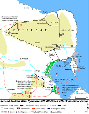 the events leading to the siege in syracuse Few events were as impactful over the athens was now fully invested in the sicilian expedition and syracuse was now the back and forth siege of syracuse.