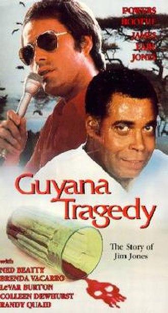 Guyana Tragedy: The Story of Jim Jones - 1980, promotional movie poster