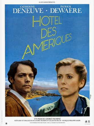 Hotel America - Theatrical release poster