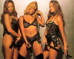 HWA (group) - From left to right: Jazz, Baby Girl and Diva.