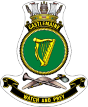 HMAS Castlemaine - Ship's badge