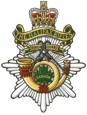 The Halifax Rifles (RCAC) - Image: Halifax Rifles RCAC logo