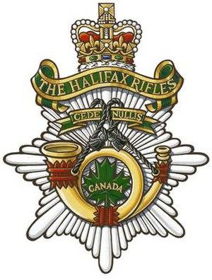 The Halifax Rifles (RCAC)