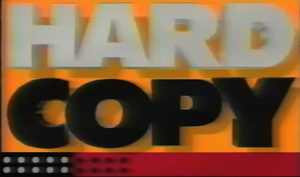 Hard Copy - Image: Hard copy titlecard