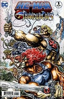<i>He-Man/ThunderCats</i> comic