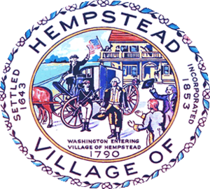 Hempstead (village), New York - Image: Hempstead Village Seal