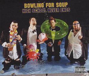 High School Never Ends - Image: High School Never Ends CD Single