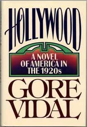 Hollywood (Vidal novel) - Cover of the first edition