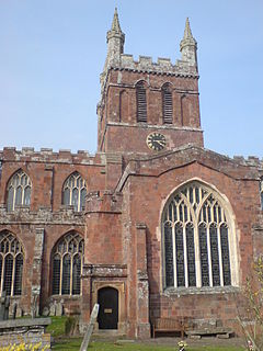 Crediton Parish Church Church in Devon, England