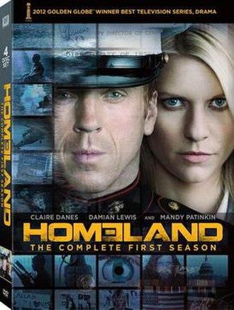 Homeland (season 1) - Image: Homeland S1DVD