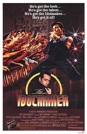The Idolmaker - Theatrical release poster