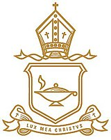 Ivanhoe Girls' Grammar School crest. Source: www.ivanhoegirls.vic.edu.au (Ivanhoe Girls' Grammar School website)