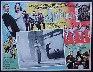 Jamboree (1957 film) - Mexican movie poster