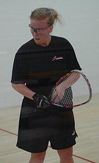 Jennifer Saunders (racquetball) Canadian racquetball player