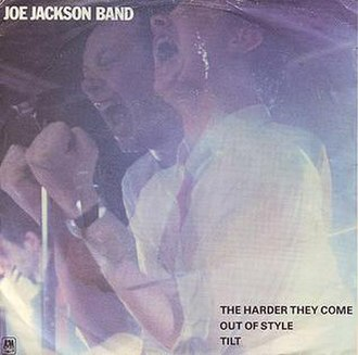 The Harder They Come (song) - Image: Joe Jackson Band The Harder They Come cover