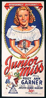 <i>Junior Miss</i> (film) 1945 film by George Seaton