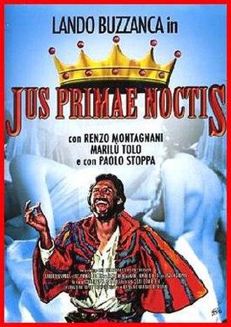 Jus primae noctis (film) - Image: Jus primae noctis (film)