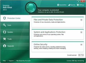 Kaspersky Anti-Virus - Image: Kaspersky Anti Virus