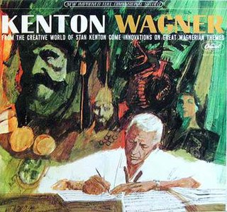 <i>Kenton / Wagner</i> 1964 studio album by Stan Kenton