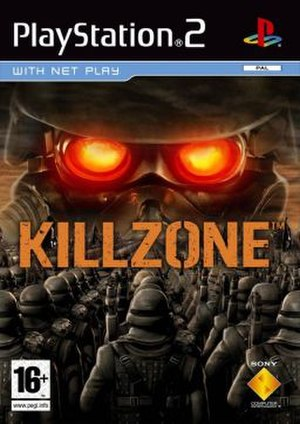 Killzone (video game) - European cover art
