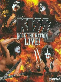 <i>Rock the Nation Live!</i> live album by Kiss