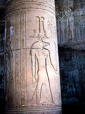 Kom Ombo - Sobek at the Temple of Kom Ombo.